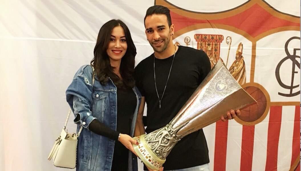Sidonie et Adil Rami se sont rencontrés dans les allées de Roland-Garros en 2011