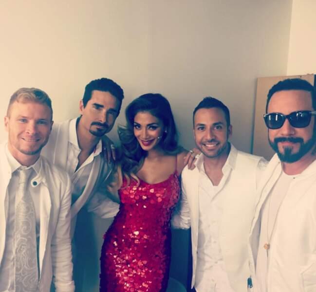 Arrêtez tout : Nicole Scherzinger était avec les Backstreet Boys !