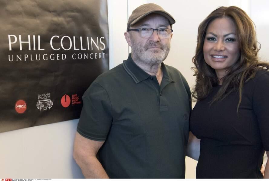... tout comme Phil Collins et Orianne Cevey, son ex-femme !