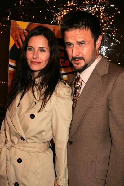 Elle a rencontré l'acteur en 1996, sur le tournage de Scream.