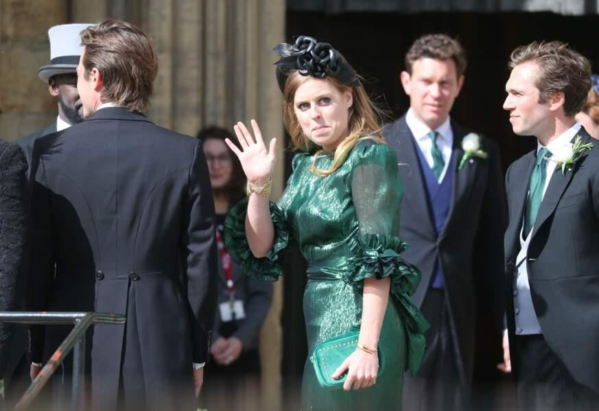 Amie du couple, la princesse Béatrice était là…