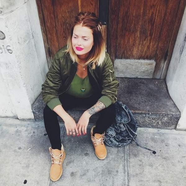 A Londres, Caroline Receveur continue ses shootings mode