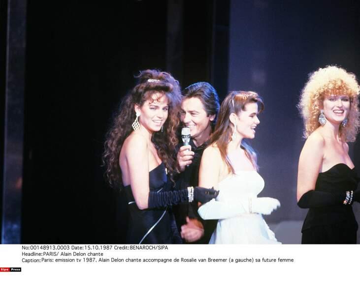 """Rosalie van Breemen était mannequin avant de rencontrer Alain pour sa chanson """"Comme au cinéma"""" (1987)"""