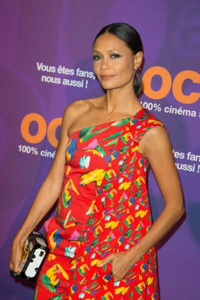 L'actrice Thandie Newton représentait sa série, Westworld