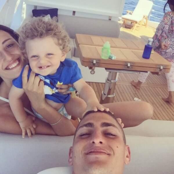 Ils sont les heureux parents d'un petit garçon de 3 ans, Tommaso