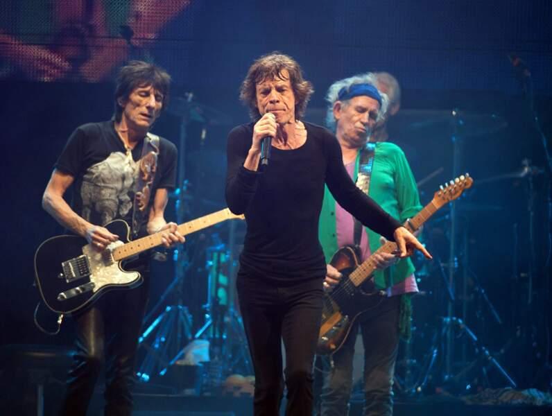 69. Les Rolling Stones (chanteurs)