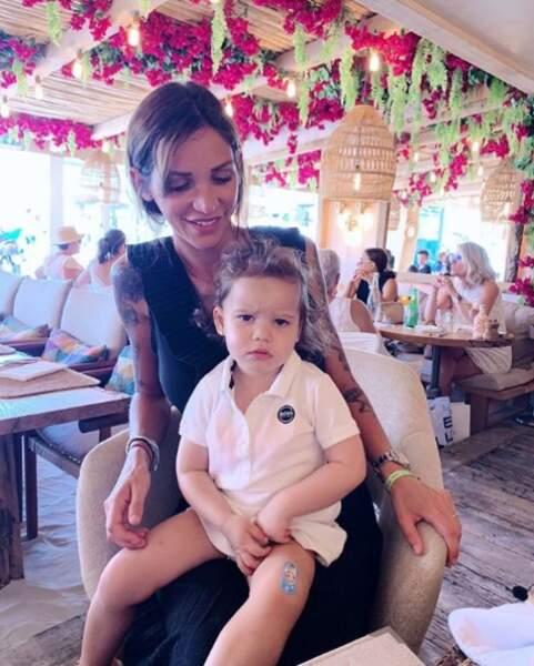 Julia Parades est avec sa petite Luna