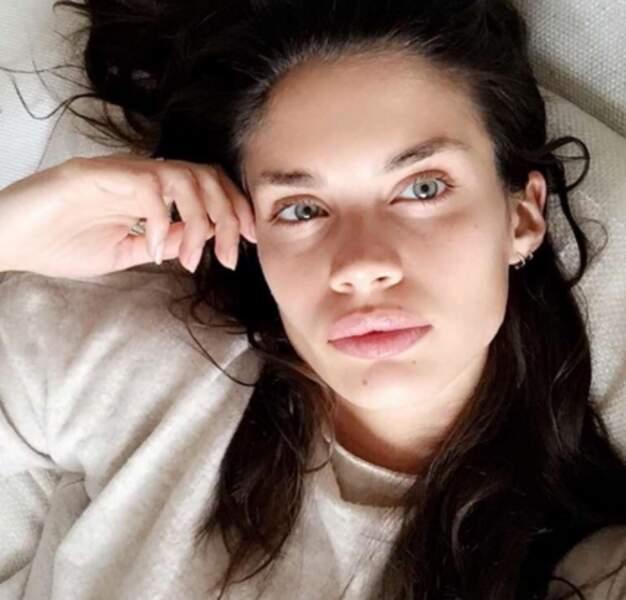 La top-model Sara Sampaio sans make-up. Wahou !
