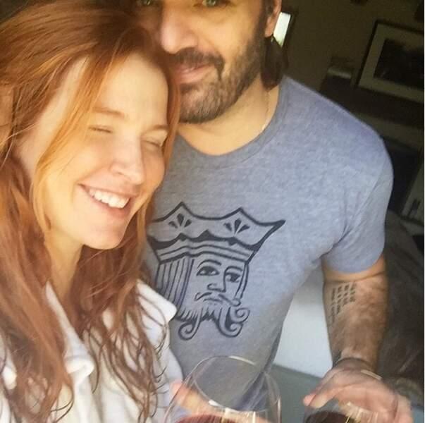 Un petit verre de vin avec son mari (avec modération bien sûr !)