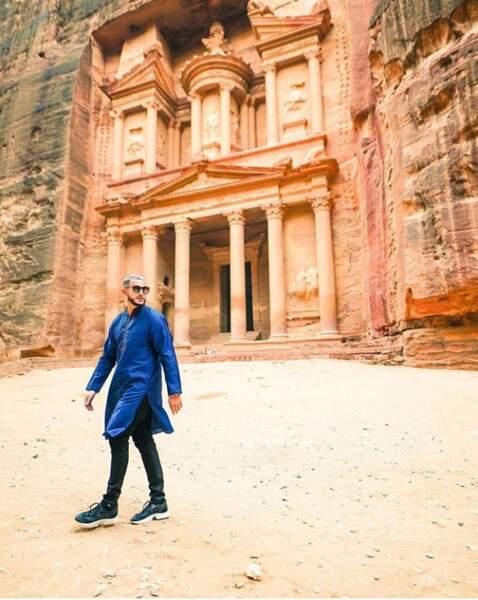 On continue avec DJ Snake à Pétra en Jordanie