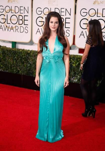 Robe, euh... colorée de la chanteuse Lana Del Rey