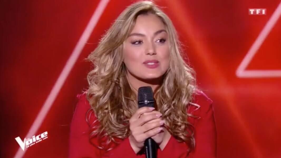 Yasmine Ammari, 32 ans, star en Algérie, est dans l'équipe de Florent Pagny