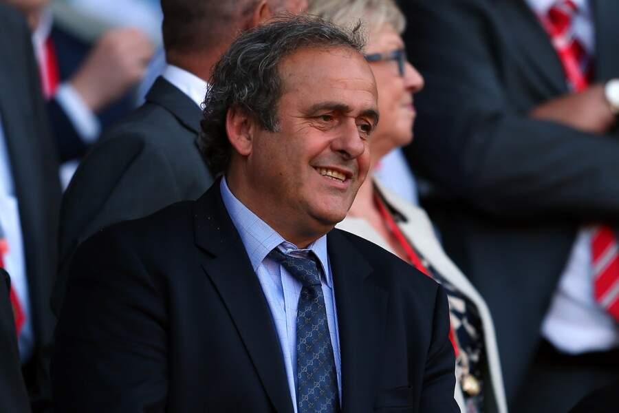 Président de l'UEFA depuis 2007, il a été suspendu de ses fonctions en octobre 2015 pour 4 ans