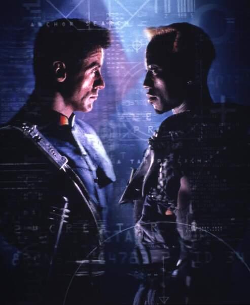 Demolition Man (1993) :  Wesley Snipes et Sylvester Stallone