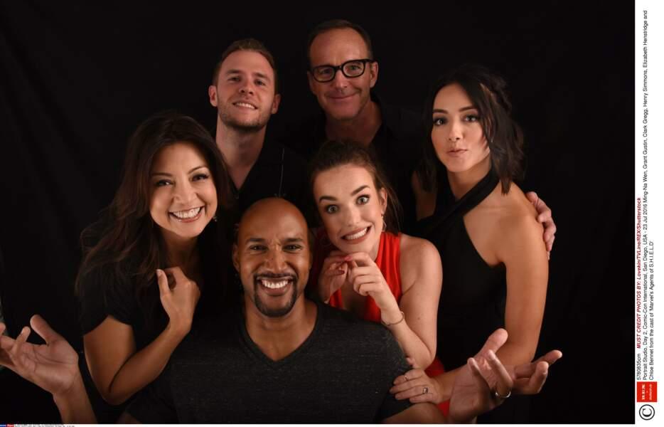 L'équipe de Marvel : les agents du S.H.I.E.L.D. en grande forme
