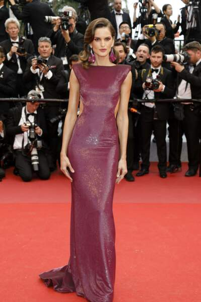 … pour le top model Izabel Goulart
