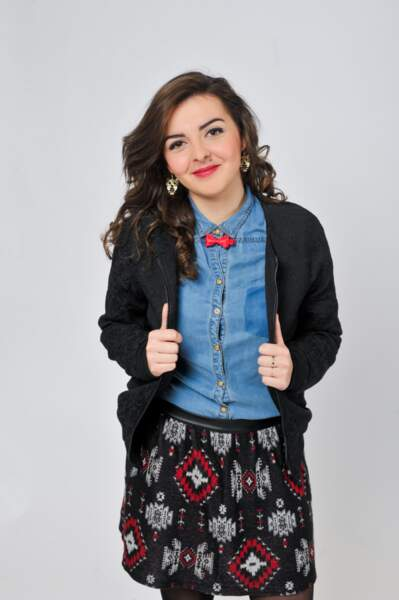 Léa, 18 ans, finaliste de Nouvelle Star