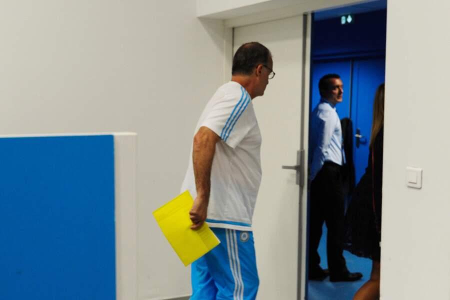 8 août, Un fou ! Marcelo Bielsa surprend tout le monde et claque la porte de l'OM dès la 1ère journée