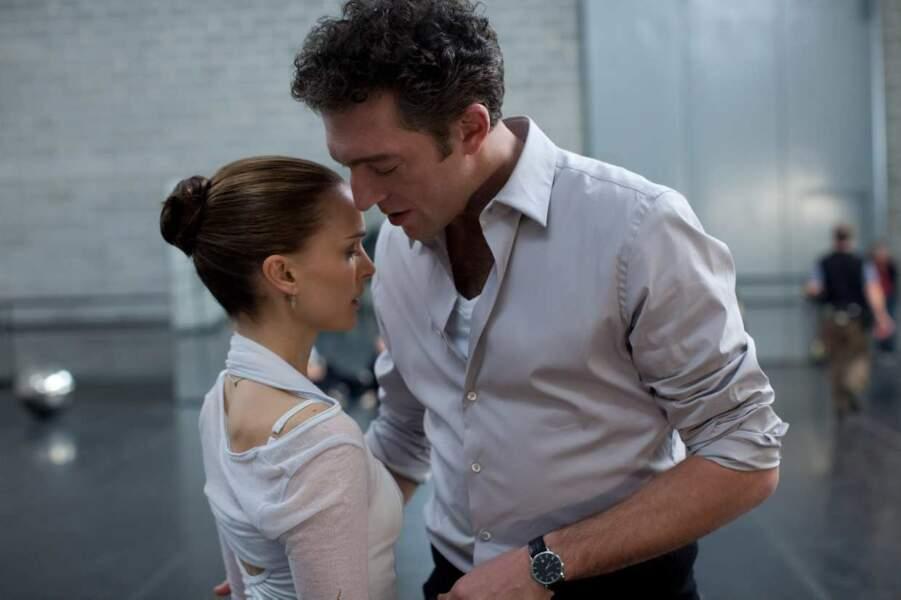 """Vincent Cassel avec Natalie Portman dans """"Black Swan"""""""