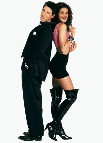 1990 Julia joue une prostituée dans Pretty Woman, une cendrillon des temps modernes, qui lui vaut sa notoriété.