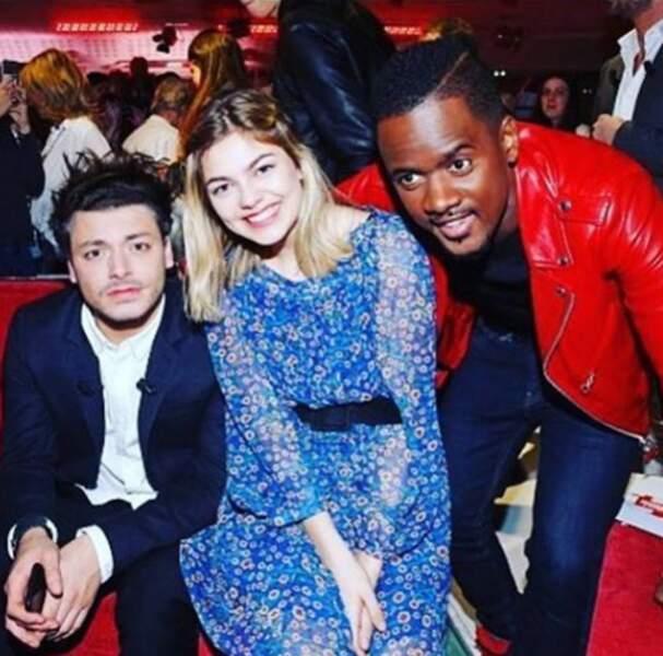 Avec Louane et BlackM sur le plateau de Vivement dimanche !