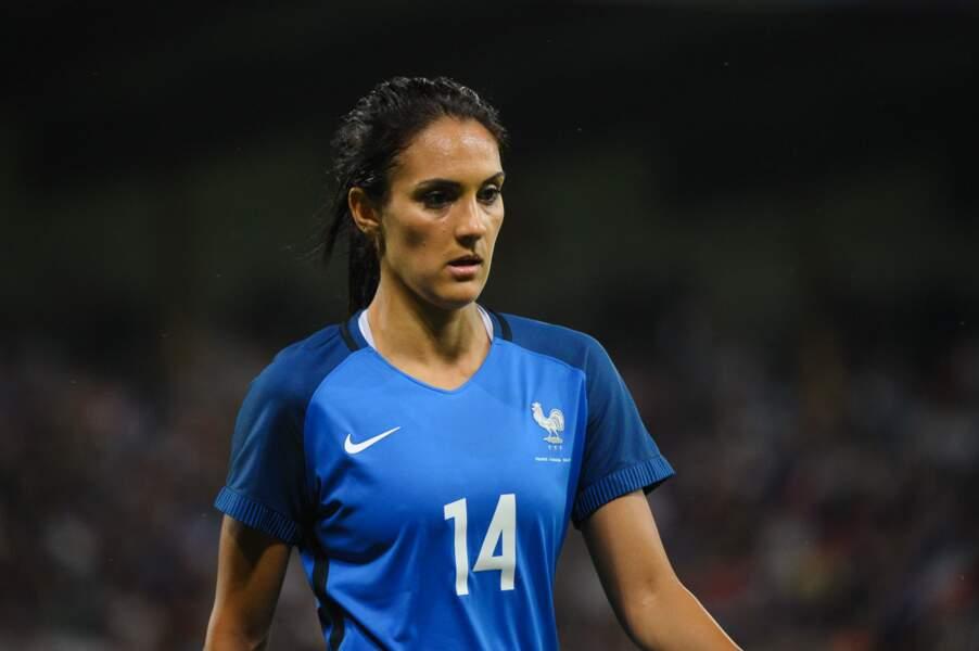 Louisa Necib Cadamuro (2005/2016) est la troisième meilleure buteuse des bleus avec 36 buts à son actif
