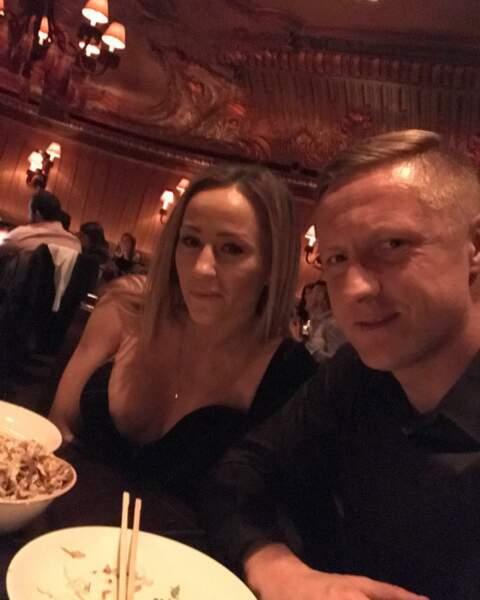 Le Polonais de l'AS Monaco Kamil Glik, toujours aux petits soins pour Marta