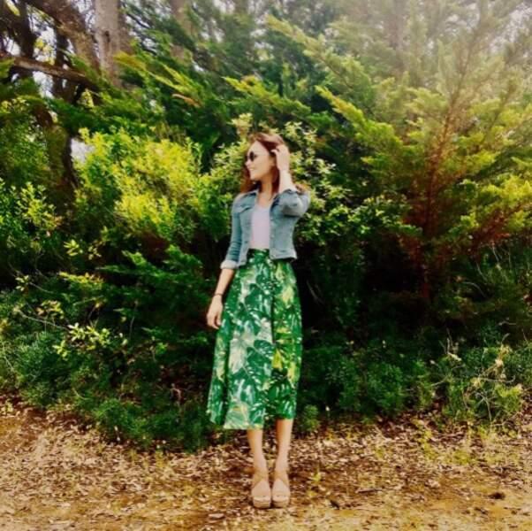 Valérie Bègue, experte en camouflage.