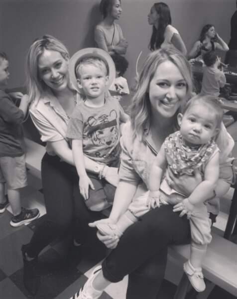 Haylie Duff est toujours aussi proche de sa soeur Hilary