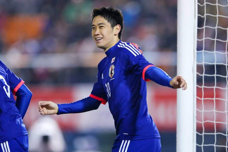 Le footballeur japonais Shinji Kagawa, 25 ans