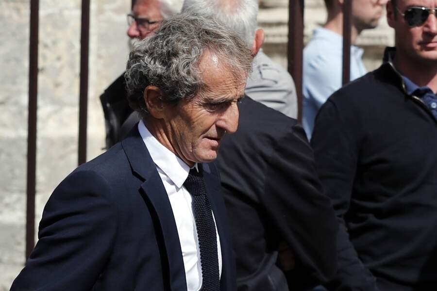 Tout comme Alain Prost, très ému