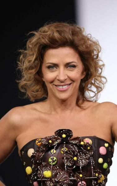 Sur le podium du défilé, on a également croisé Corinne Touzet...