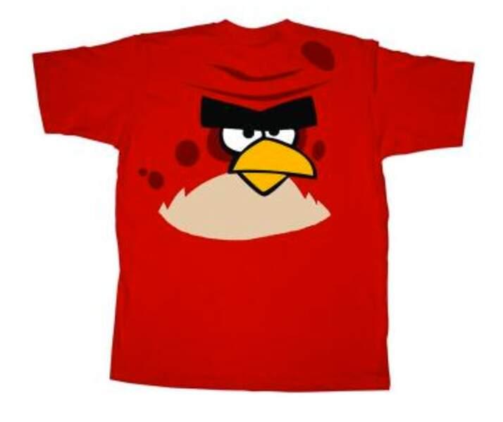 Incontournable : le tee-shirt Angry Birds