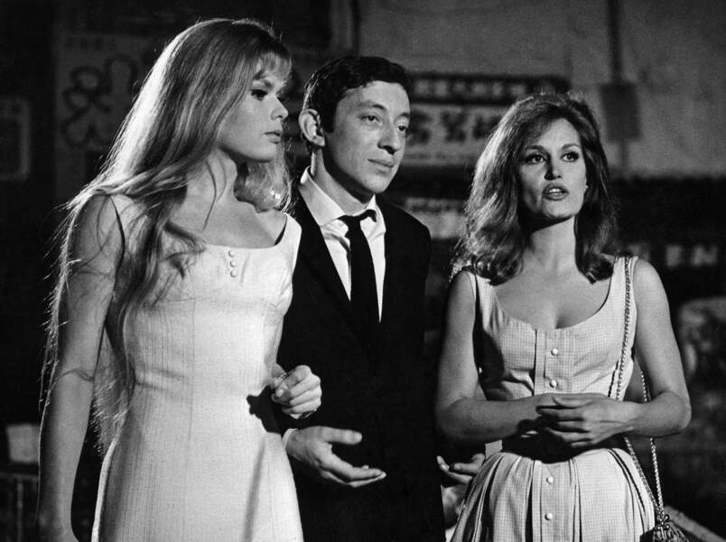 """Dalida donne la réplique en 1963 à Serge Gainsbourg dans """"L'inconnue de Hong-Kong"""""""