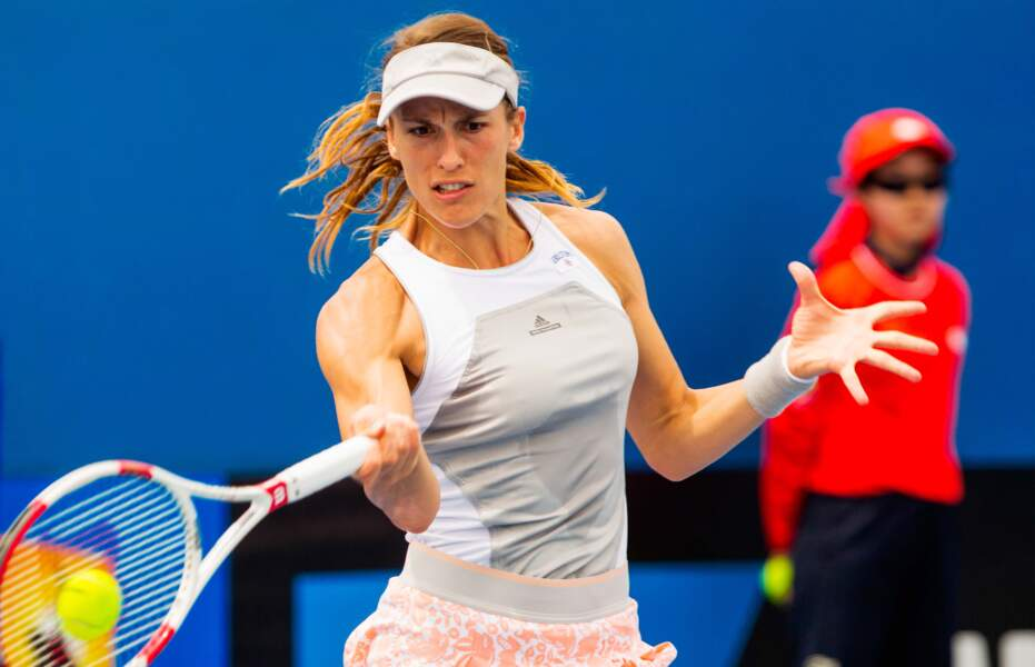 Andrea Petkovic frappe fort
