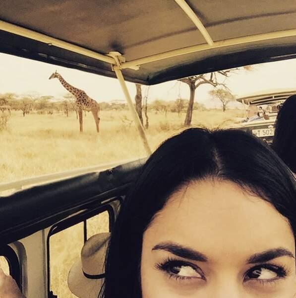 Et Vanessa Hudgens a carrément fait un safari avec son amoureux.