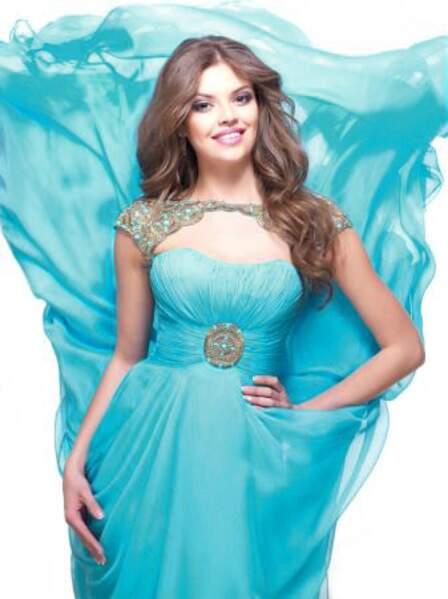 Regina Vandysheva représente le Kazakhstan