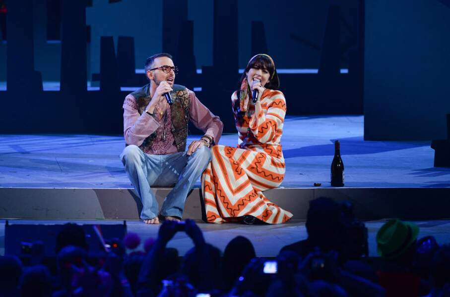 Ambiance babacool pour Christophe Willem et Nolwenn Leroy