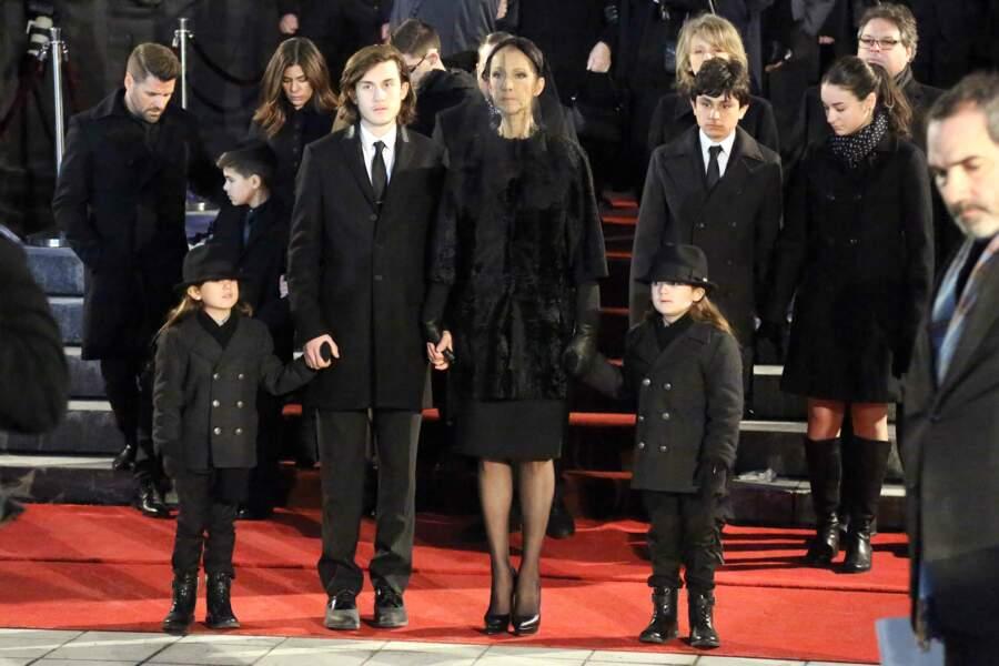 Une famille unie dans le deuil