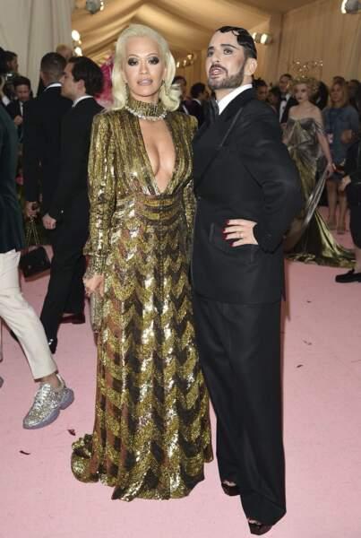 Rita Ora et Marc Jacobs, très complices.