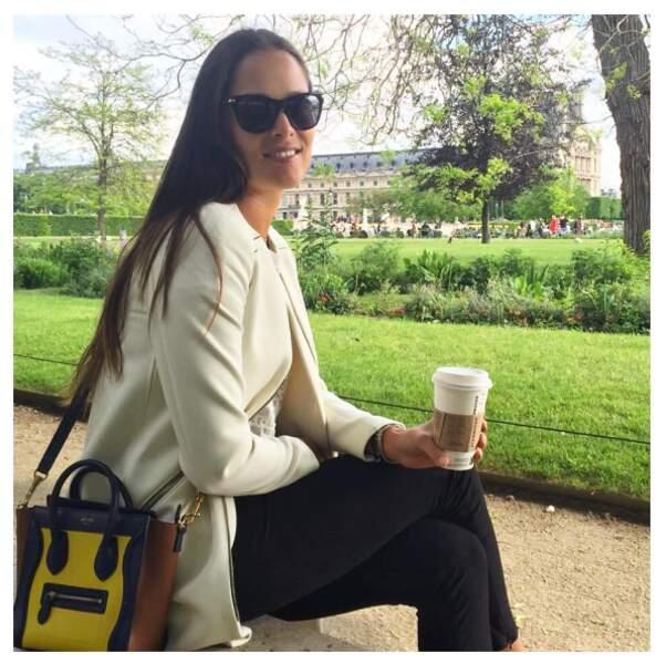Ana Ivanovic, élue guide touristique de la capitale