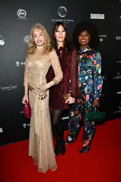 Les Parisiennes (Arielle Dombasle, Mareva Galanter et Inna Modja)