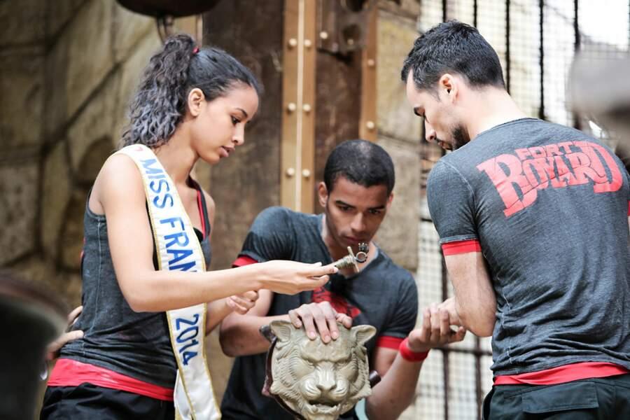 Flora Coquerel, Brahim Zaibat et le reste de l'équipe ont-ils récupéré les clés pour ouvrir la salle du trésor ?