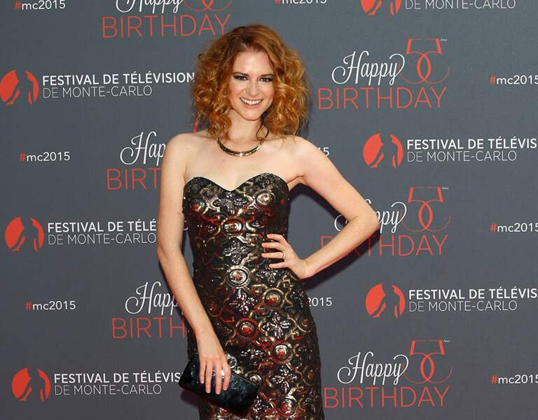 La pétillante Sarah Drew, alias April Kepner dans Grey's Anatomy