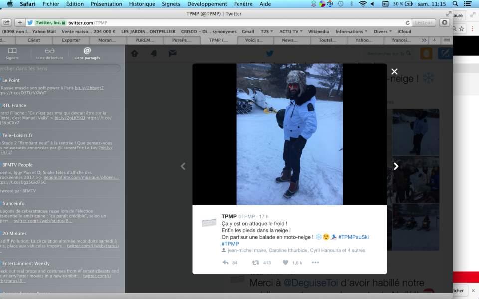 Trop looké, le Baba des neiges