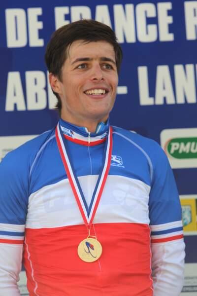 Le coureur de la FDJ portera le maillot bleu-blanc-rouge durant le Tour