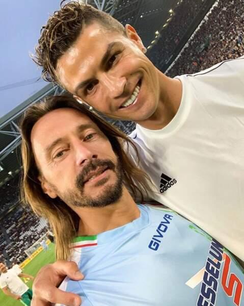 Bob Sinclar et Cristiano Ronaldo... Et si le DJ nous sortait un petit morceau en featuring avec le footballeur ?