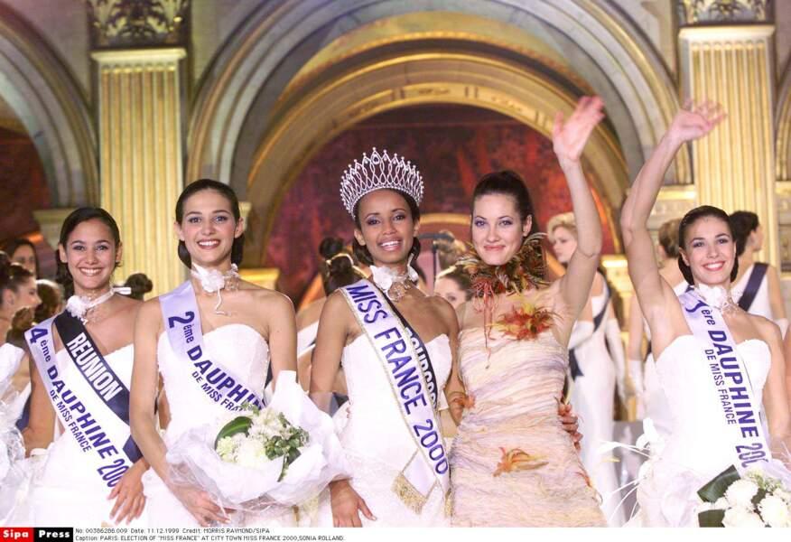 Miss France 2000 : Sonia Rolland (Miss Bourgogne)
