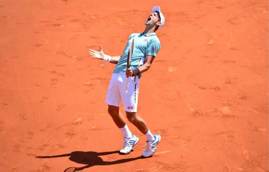 Djokovic en bave, il est trop fort ce Rafa !