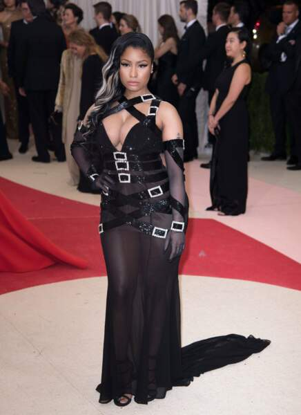 Nicki Minaj gonflée à bloc.